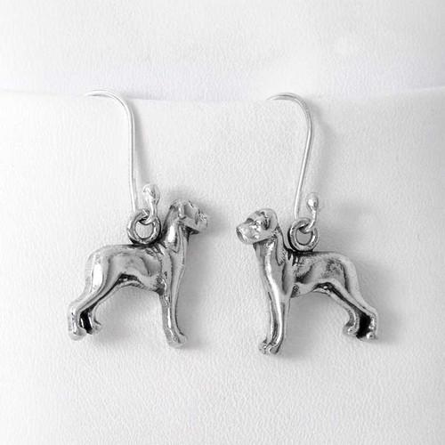 Great Dane Earrings - Flop Ear