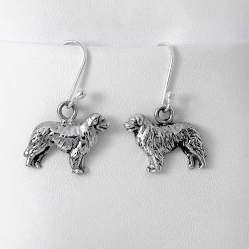 Sterling Silver Leonberger Earrings