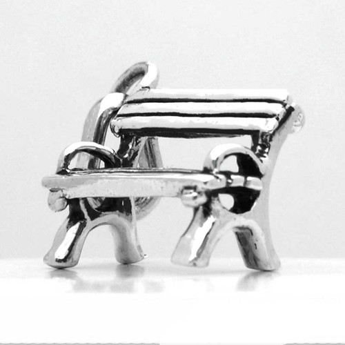 Park Bench Sterling Silver