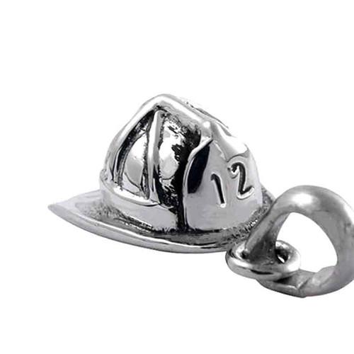 Fireman's Helmet Charm