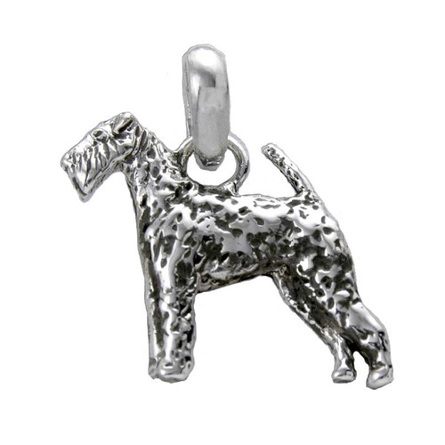 Airedale Terrier Large Charm