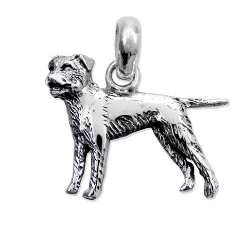 Border Terrier Large Charm