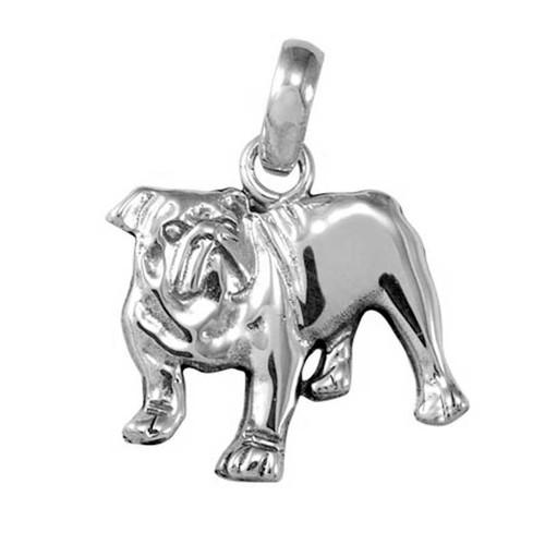 Bull Dog Large Charm