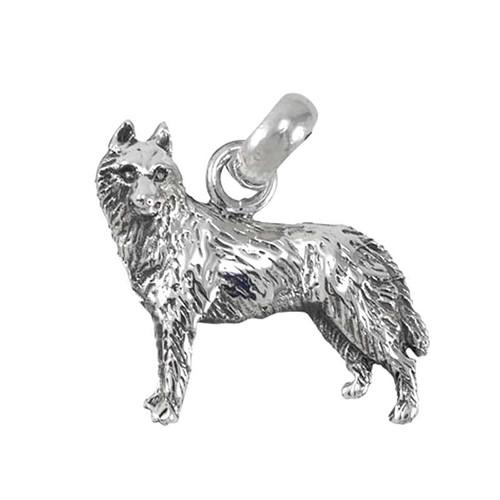 Siberian Husky Large Charm