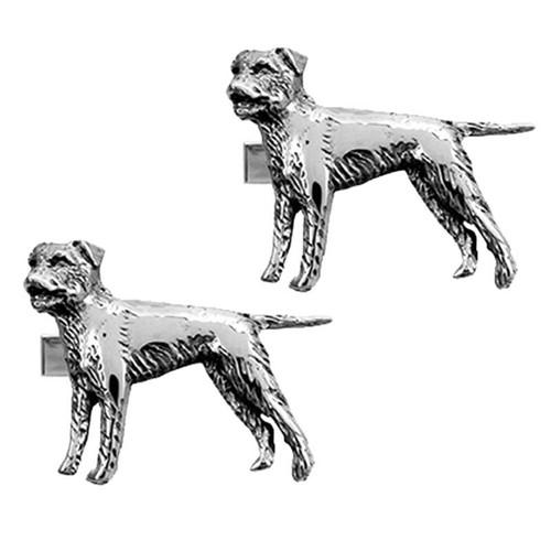 Border Terrier Cufflinks