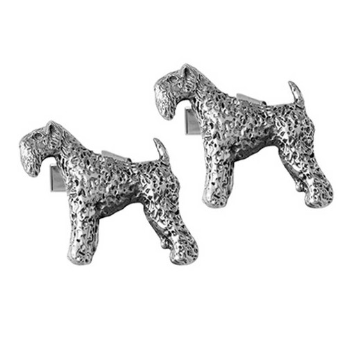 Kerry Blue Terrier Cufflinks