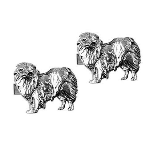 Japanese Chin Cufflinks
