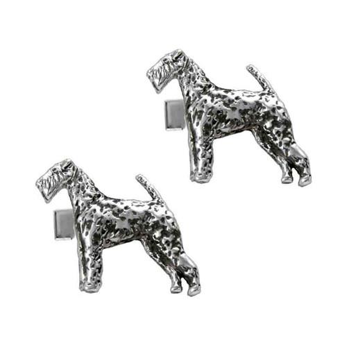 Airedale Terrier Cufflinks