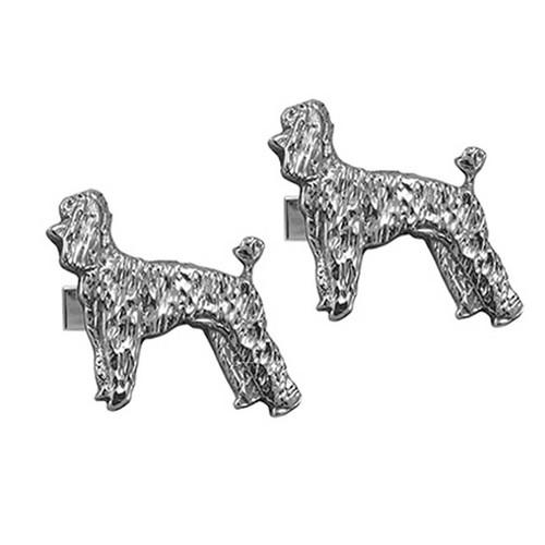 Poodle Puppy Cufflinks