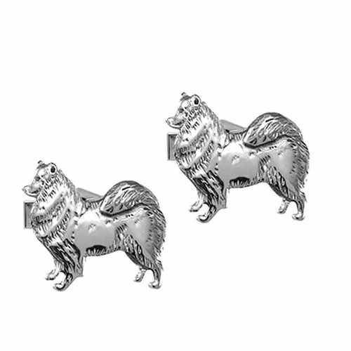 Samoyed Cufflinks