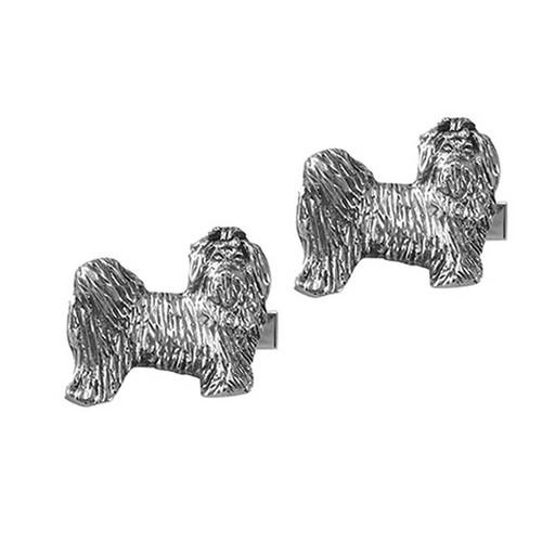 Maltese Puppy Cufflinks