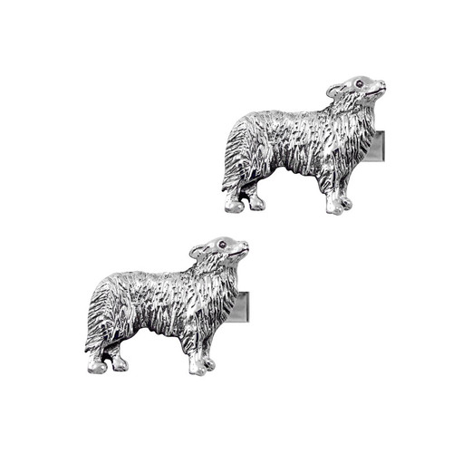 Border Collie Cufflinks