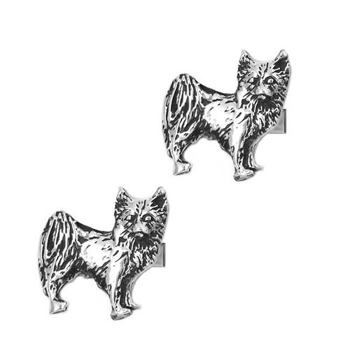 Long Haired Chihuahua Cufflinks