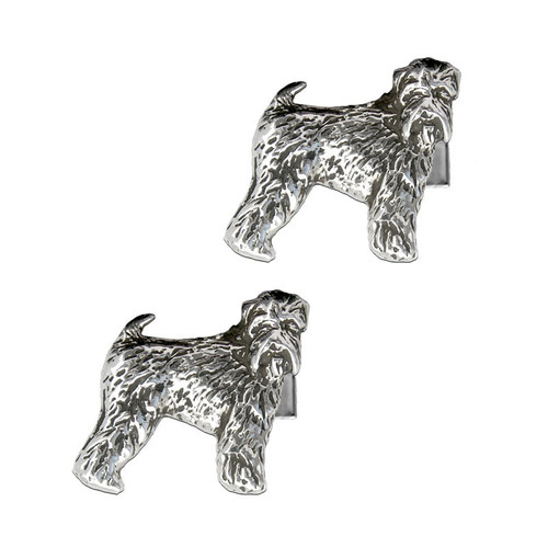 Wheaten Terrier Cufflinks