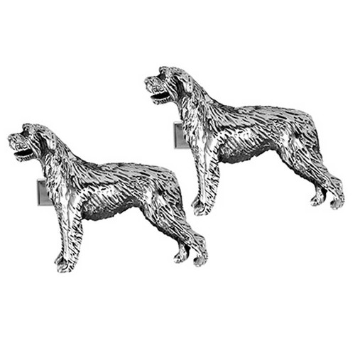 Irish Wolfhound Cufflinks