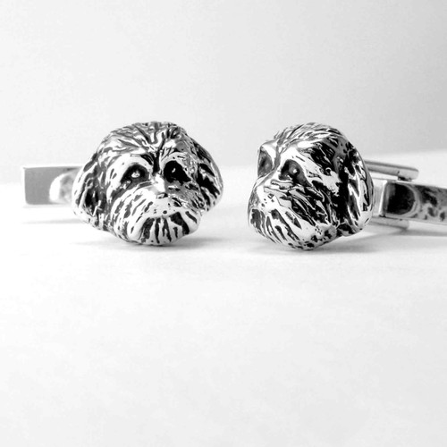 Dog Head CuffLinks
