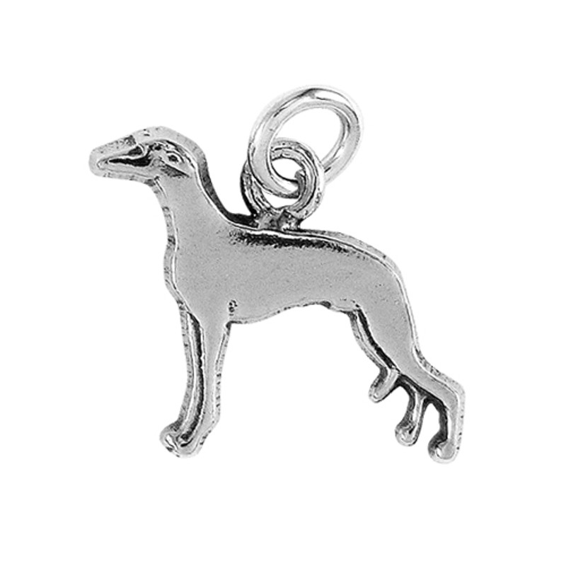 Whippet Dog ID Tag Gift Charm
