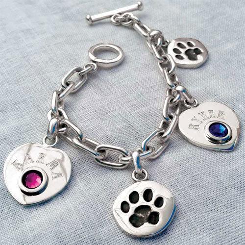 Dog Charm Bracelets