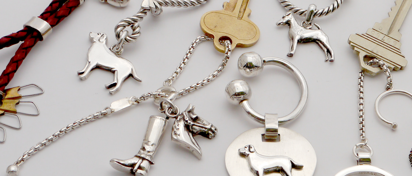 key chains for dog lovers & horse lovers