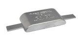 Z4-ZNAL Weld-On Zinc Anode with Aluminum Strap