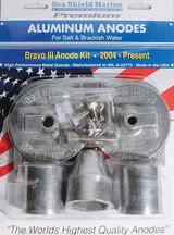 Sea Shield Mercruiser Bravo 3 Aluminum Anode Kit (2004 – present)