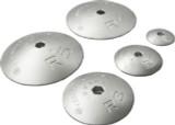 "Tecnoseal 3-3/4"" X 1/2"" Rudder/Trimtab Anode Aluminum (R-3AL)"