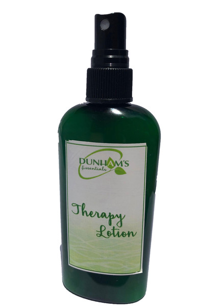 Dunham's Essentials Calming lotion, helps in reducing stress an anxiety, we've blended lavender, rose geranium, cedarwood and lemongrass essential oils for an incredible calming aromatherapy fragrance.  Completely portable for on the go.