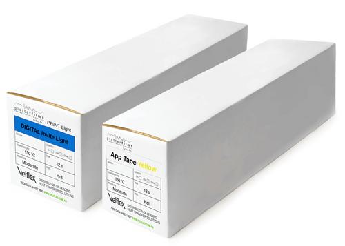 Plotterfilms bundle: DIGITAL Invite Light & APP TAPE Yellow (0.5m x 25m)