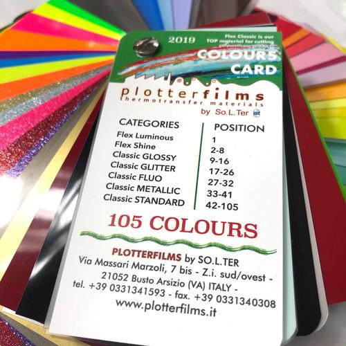 Plotterfilms Colour Swatch