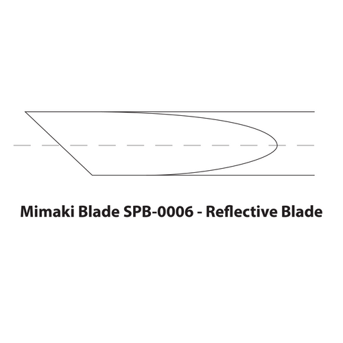Mimaki Titanium Reflective Blades: SPB-0006 (2 Blades)
