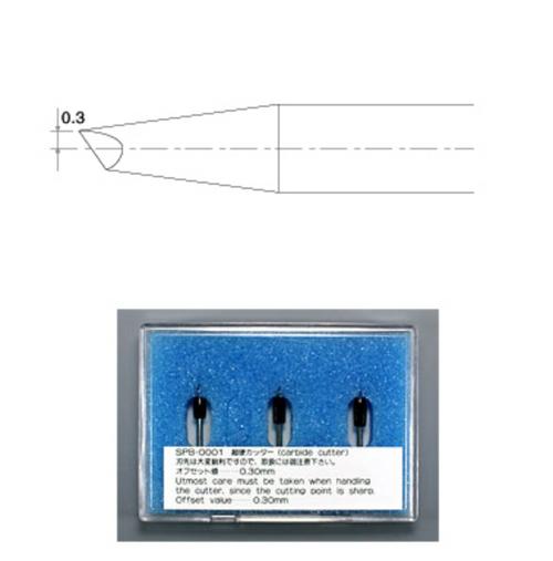 Mimaki PVC & Paper Blades - SPB-0001 (3 Blades)