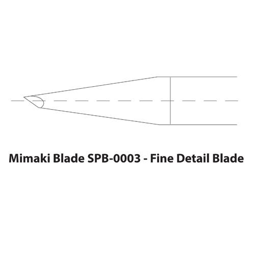 Mimaki Small Character Fine Detail Blades: SPB-0003 (3 Blades)