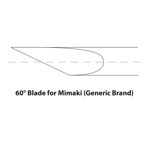 60° Blade for Mimaki (Generic Brand) 5 Pack