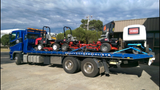 OzWide Transport and Towing: Our towing partners! - Dawn Mowers