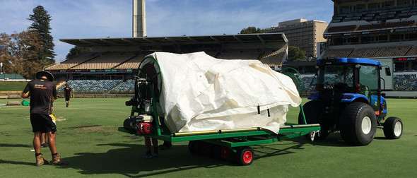 Mow master Covers / Tarp Roller