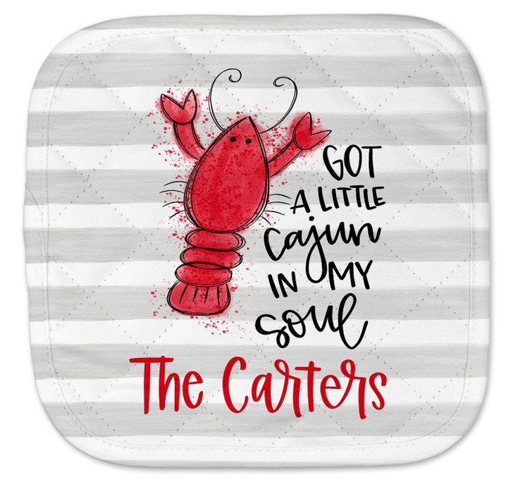 Personalized Pot Holder - Cajun in My Soul