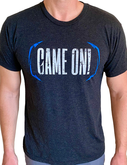 Game On! Shirt - Blue Hooks