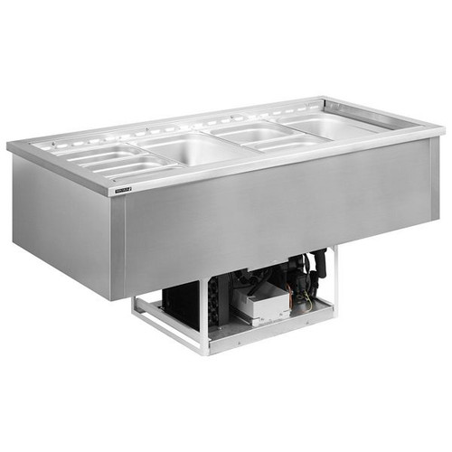 CW4V with gastro pans (not supplied)