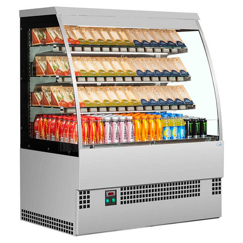 Evo Self Serve Range Low Height Multideck - EVO1800 SS SELF