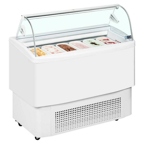 Fiji Range Ventilated Scoop Ice Cream Display - FIJI 12