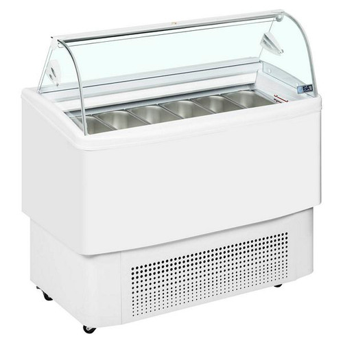 Fiji Range Ventilated Scoop Ice Cream Display - FIJI 120