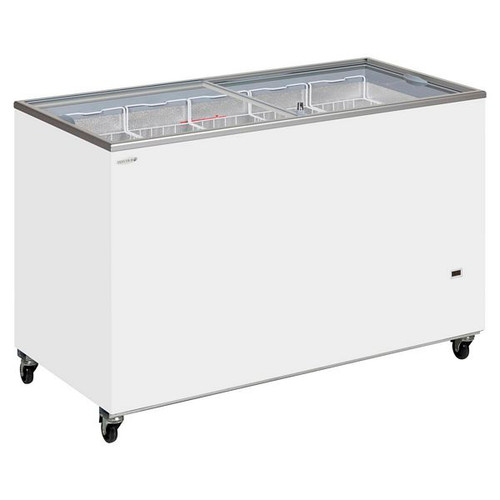 IC-SC Range Sliding Flat Glass Lid Chest Freezer - IC500SC