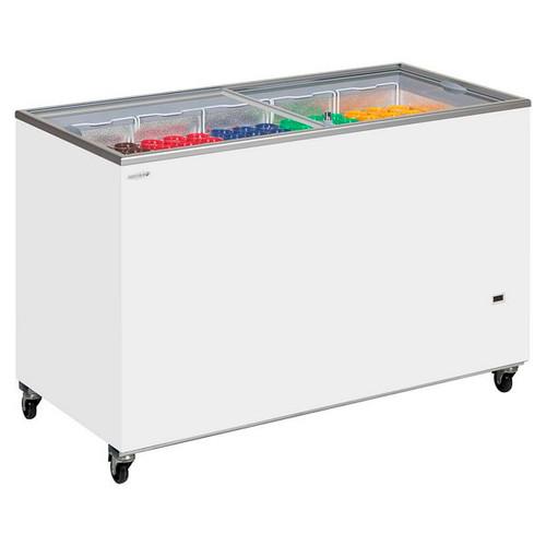 IC-SC Range Sliding Flat Glass Lid Chest Freezer - IC500SC