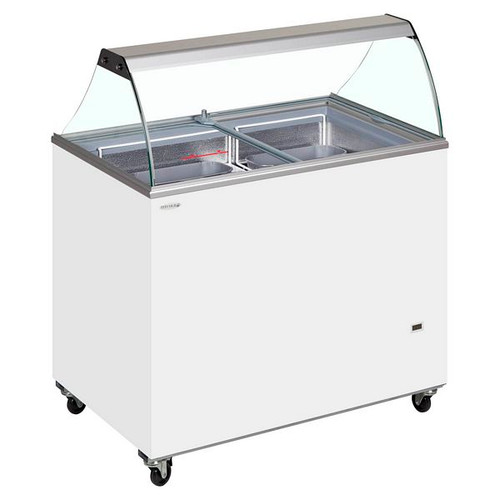 SC Canopy Range Scoop Ice Cream Display - IC500SC + CANOPY
