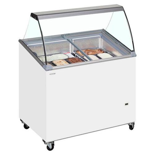 SCE Canopy Range Scoop Ice Cream Display - IC500SCE + CANOPY