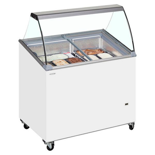 SCE Canopy Range Scoop Ice Cream Display - IC500SCE + CANOPY