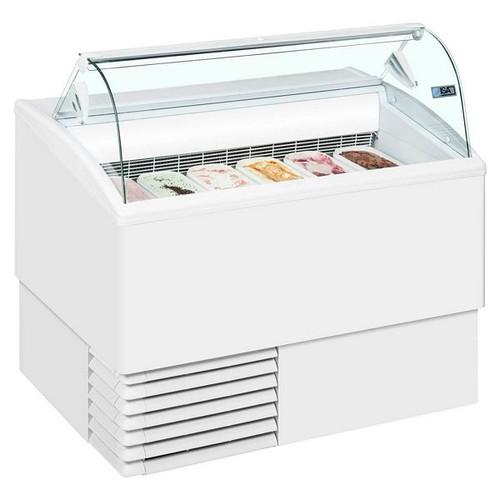 Isetta Range Scoop Ice Cream Display - ISETTA 4LX