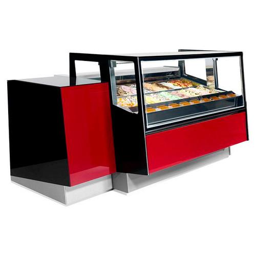 Kaleido Range Ventilated Scoop Ice Cream Display - KALEIDO 170+50