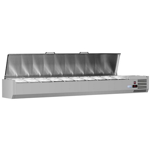 VRX 330 SS Range Gastronorm Topping Shelf - VRX1600/330 SS