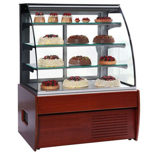 Zurich II Wood Range Patisserie Display Cabinet - ZURICH II 120W